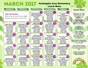 thumbnail of March 2017 – Elementary Lunch
