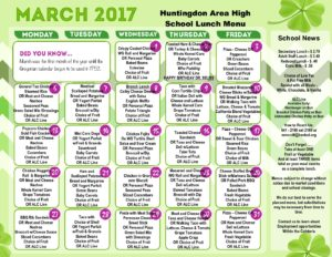 thumbnail of March 2017 – HS Lunch