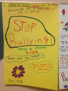 Stop Bullying poster three