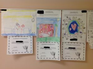 Posters exhibiting kindness - created by students