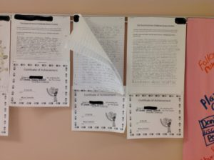 Student papers about kindness