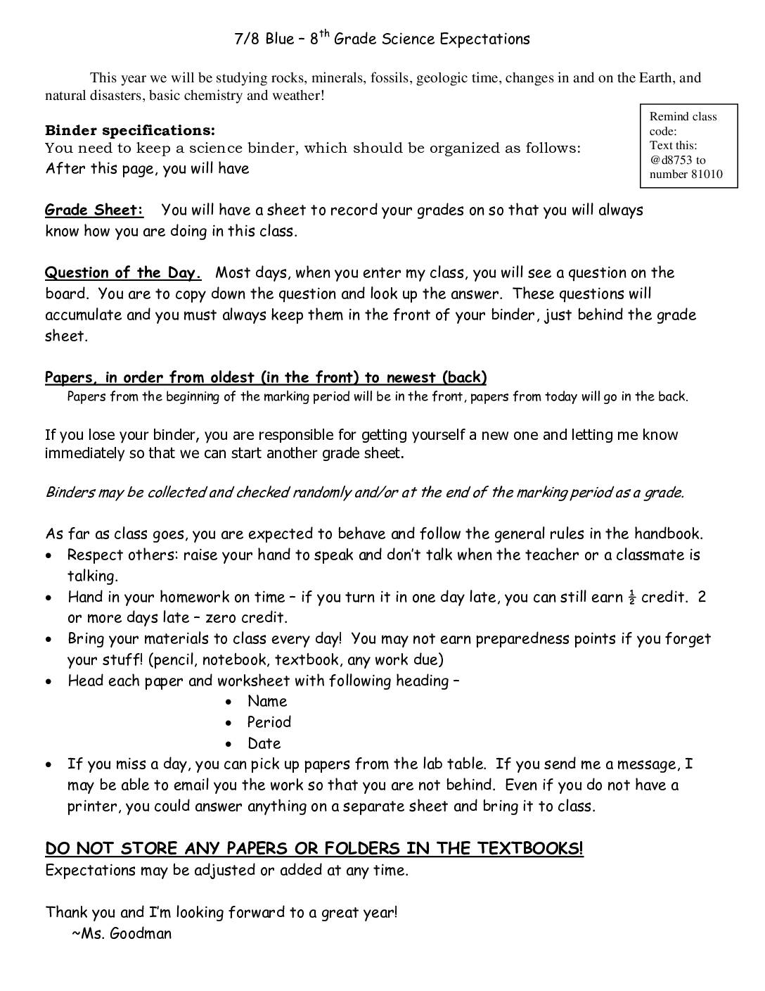 8th grade expectations Downloadable pdfs of k-8 curriculum overviews as well as grade 1-5 essential  learning  to view the full learning expectations for grades k-8, click here.