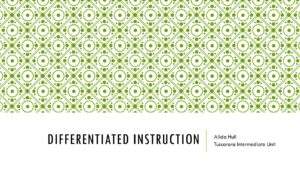thumbnail of Differentiated Instruction Presentation 8.22.16