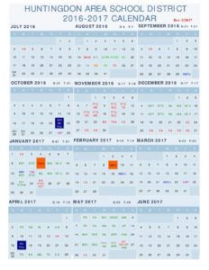 thumbnail of 2016-2017 Revised Calendar – 22017