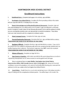 thumbnail of Student Enrollment Forms