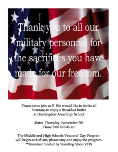 thumbnail of Veterans Day Luncheon Invitation 2019