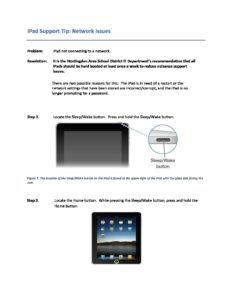 thumbnail of iPad Network Issues