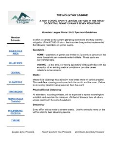 thumbnail of Mt League Winter Spectator Guidelines