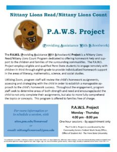 thumbnail of PAWS Project Flyer