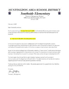 thumbnail of COVID Southside No Positive Cases Letter 2_8_21 (1)