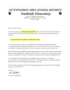 thumbnail of COVID Southside No Positive Cases Letter 2_28_21